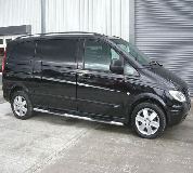Mercedes Viano Hire in Guildford